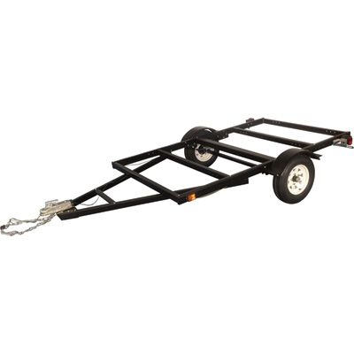 5x8 trailer perfect for a Teardrop trailer!  cant wait to start building!  If building your own, read reviews, one review gives some good advice on construction options.