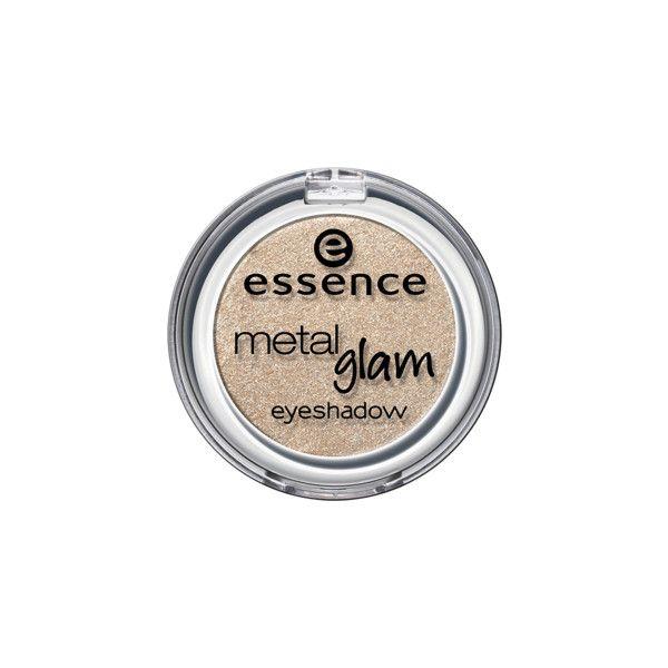 metal glam ombretto occhi effetto brillante ❤ liked on Polyvore featuring essence