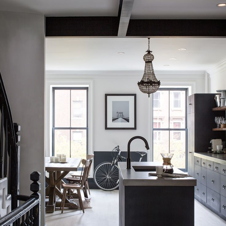 A Uniquely Renovated 1886 Brownstone Nestled in Clinton Hill, Brooklyn (via Bloglovin.com )