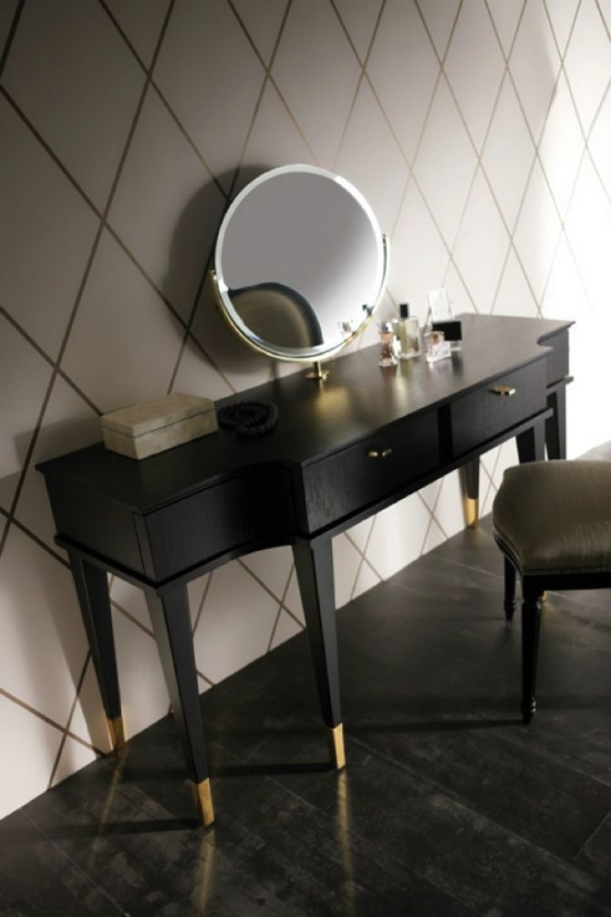 The bedroom is one of the most important rooms of your house and therefore dressing tables have become an increasingly significant furniture piece in the contemporary bedroom | Discover more: http://masterbedroomideas.eu