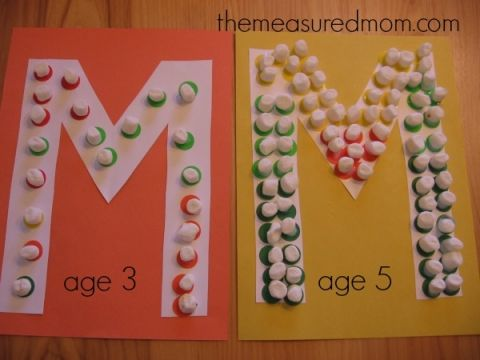 Letter M Craft (10) - the measured mom