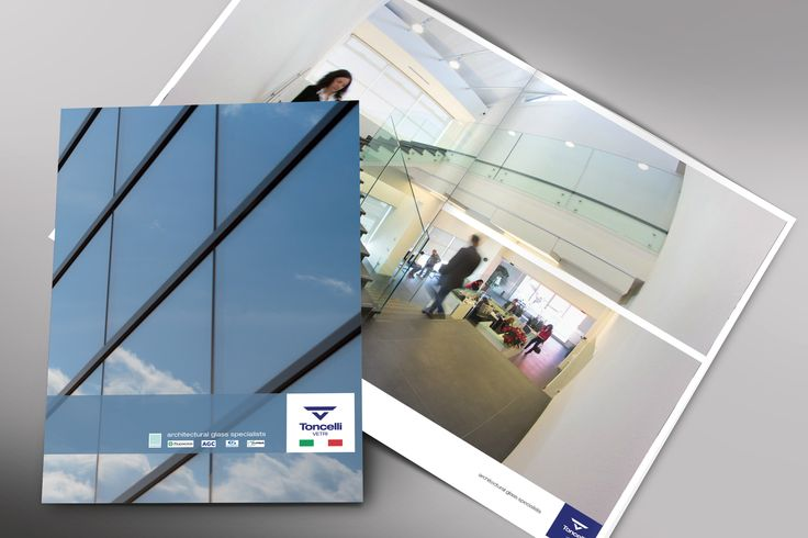 """Company brochure. Toncelli Vetri srl """"architectural glass specialist"""" company working in the construction industry.  www.tagcommunication.it  #TagCommunication #TagCommunicationWork #Marketing #Communication #WebAgency #GraphicDesign #Brochure #ToncelliVetriSrl"""