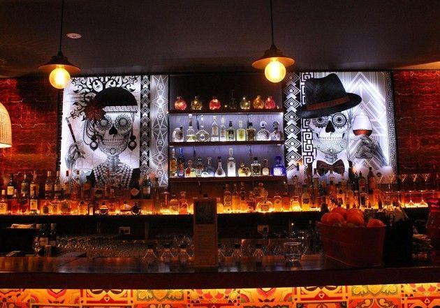 White Basement Bar