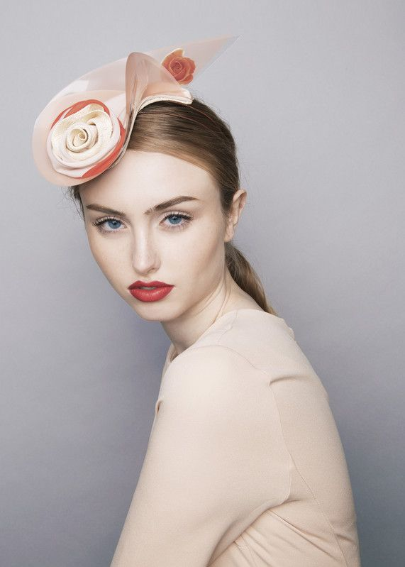 Sophie Beale Millinery | L'ete Percher | Pink and Pill Box Hats | LOVEHATS.COM