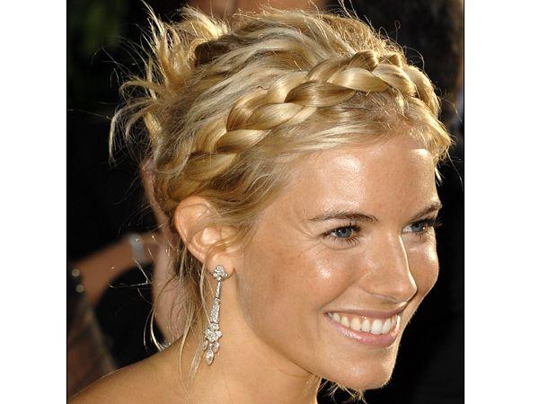 Opción de peinado con trenzas cruzadas de Sienna Miller http://idotrendy.blogspot.com.es/2012/12/recogidos-para-nochevieja.html