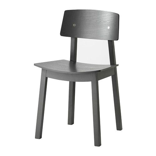 sigurd chair dark gray ikea chairs pinterest black chairs grey and kitchen desks. Black Bedroom Furniture Sets. Home Design Ideas