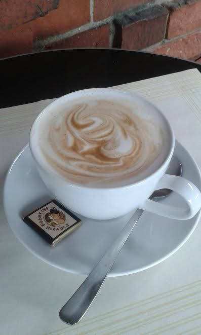 This tasty looking cup of coffee is a must from Porvoon Paahtimo cafe. Welcome yourself on board and enjoy their unique atmosphere with a nice twist of great music. www.visitporvoo.fi