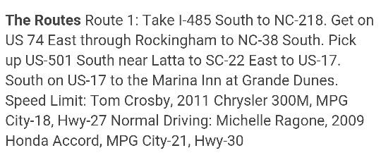 Best Route From Charlotte To Myrtle Beach
