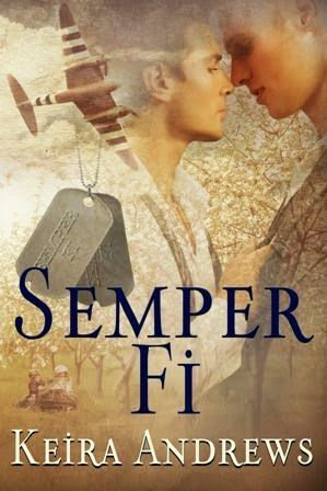 Check out my review of the M/M WW2 era story Semper Fi by Keira Andrews http://padmeslibrary.blogspot.com/2015/03/semper-fi-by-keira-andrews.html