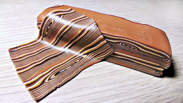 Polymer Clay Tutorial - Faux Wood