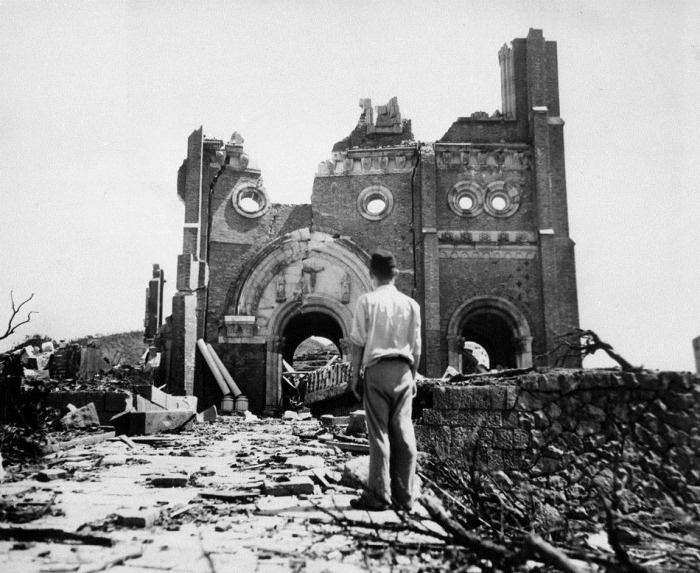 Commemorating the 73-year anniversary of United States atomic bombing of Hiroshima and Nagasaki