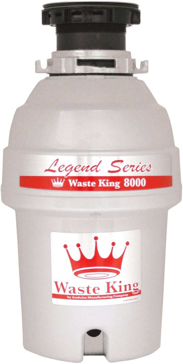 Waste King L-8000 Legend Series 1.0-Horsepower Continuous Feed Garbage Disposal - $123