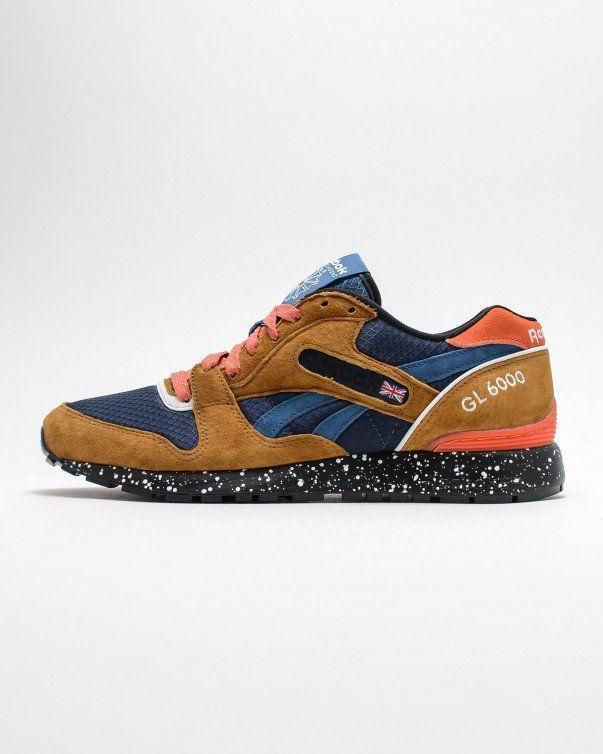 Reebok Brown Blue Orange Gl 6000 The Trail In A Colorway