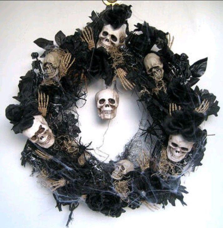 Pin by angel cardoza on Halloween wreaths Pinterest Halloween