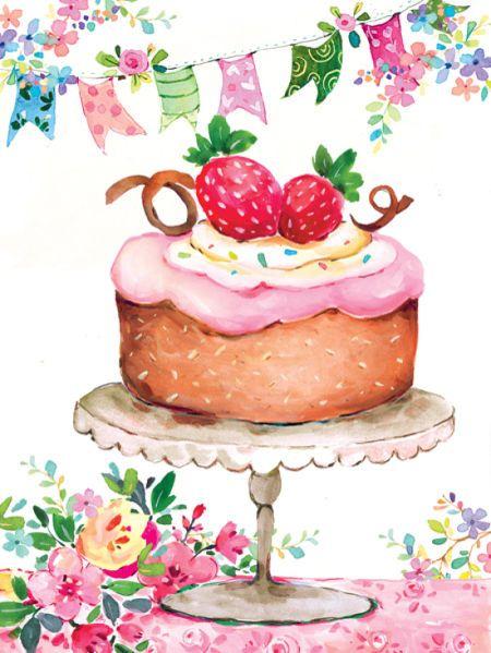 Liz Yee - Cake With Flags