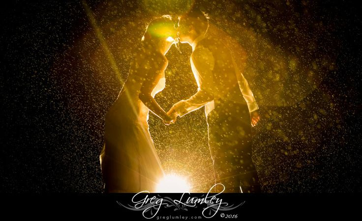 Night Shoot in the Rain at by wedding photographer Greg Lumley