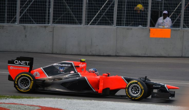 2012 GP Kanady (Charles Pic) Marussia MR01 - Cosworth