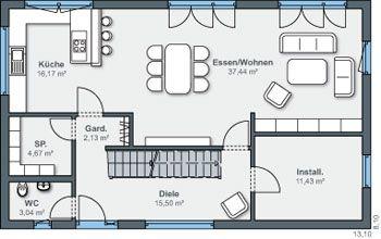 avis sur plan d 39 une maison r 1 de 107m2 61 messages page 5 plans. Black Bedroom Furniture Sets. Home Design Ideas
