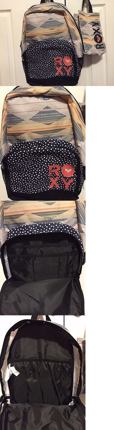 Backpacks 57917: Nwt Roxy Girls Backpack Laptop School Bag Insulated Lunch Bag Tote Set Gift New -> BUY IT NOW ONLY: $46.32 on eBay!