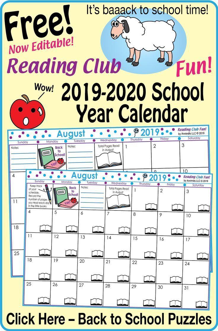 2018 2019 School Year Calendar Jpg 4 250 5 500 Pixels School