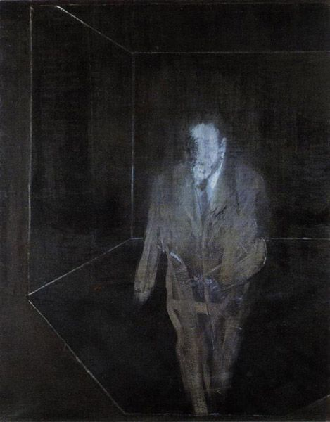 History of Art: Francis Bacon, Man in Blue IV