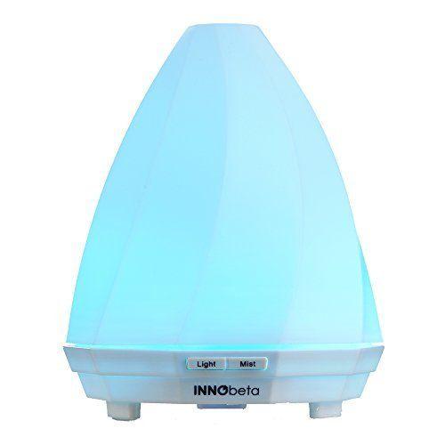 Innobeta Jokul arôme Diffuseur Portable D'huiles Essentielles Ultrasonique USB , humidificateur aromathérapie à vapeur froide, Arrêt…