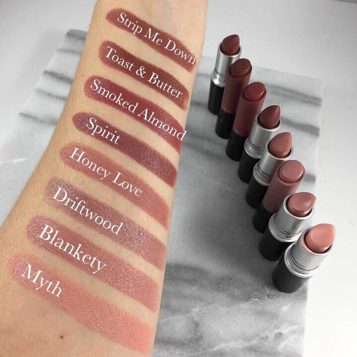 MAC NUDE LIPSTICK: SWATCHES & PRODUCT INFO