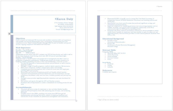 Benefits Manager Resume resume sample Pinterest - internal auditor resume