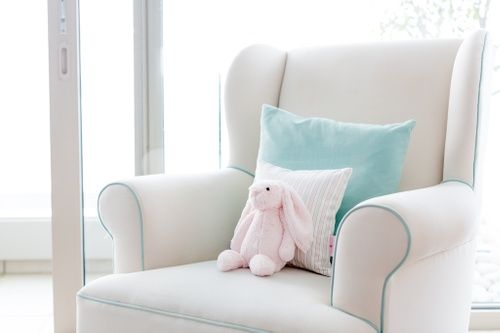 Baby Nathan and Sophia – Baby Belle - Beautiful Baby Interior Nursery - Entre Rocking chair