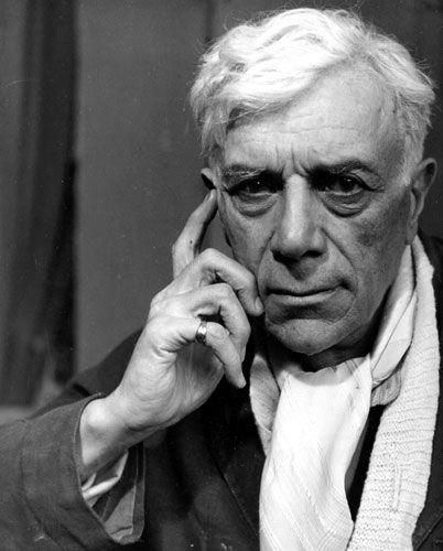 """Georges Braque né à Argenteuil le 13 mai 1882 mort à Paris le 31 août 1963. Véritable """"penseur"""" du cubisme"""