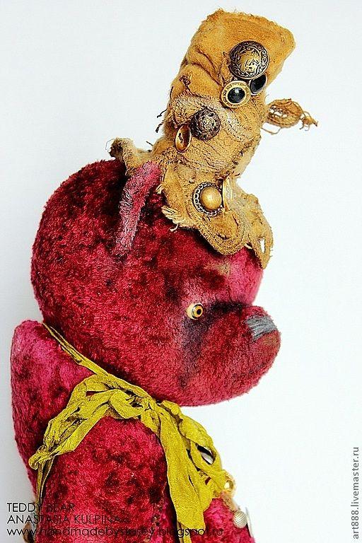 Купить Милая мишутка- кокетка Джоанна) продано - винтажный стиль, винтажные украшения, Плюшевый мишка