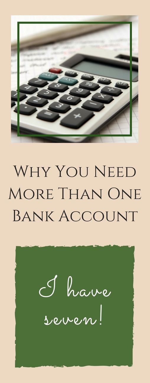 Why You Need More Than One Bank Account (I Have Seven!) Does the thought of having more than one account stress you out? Here I explain how (and why) we do. via @Becoming Wellthy- On A Mission To Find Happiness & Abundance