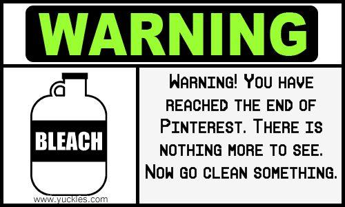 It's my recurring Pinterest nightmare....