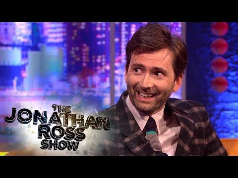 David Tennant's Children Becoming Dr Who Fans - The Jonathan Ross Show - YouTube