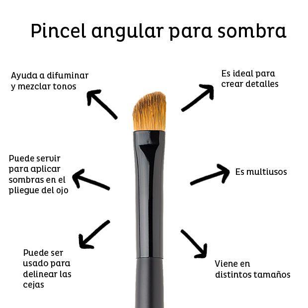 brochas y pinceles de maquillaje usos