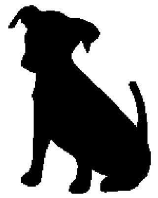 The 25 Best Dog Silhouette Ideas On Pinterest Labrador