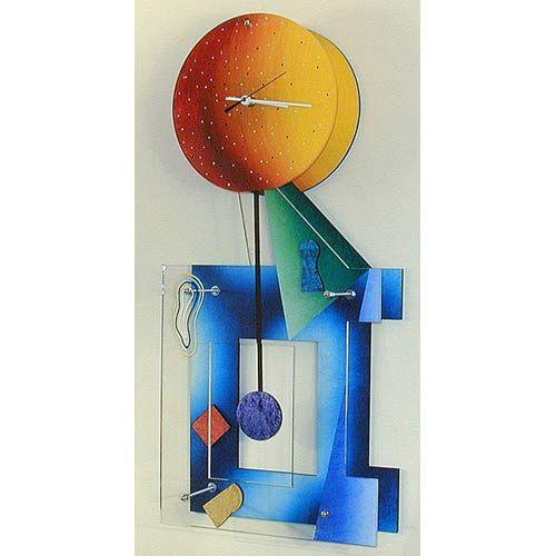 Ebony Color Wall Clock By David Scherer David Scherer Studios Wall Clocks With Pendulum Cl