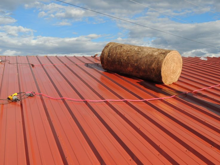 Insulated Metal Roof  Call Metal Building Outlet At 1 800 486 8415