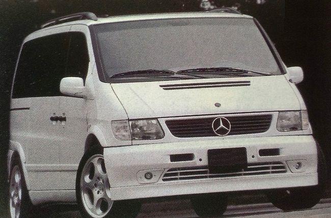 Mercedes-Benz W638 V-Class 空力套件大觀 - 7Car 小七車觀點