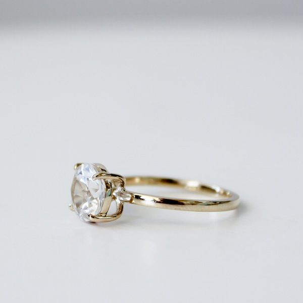 Image of Drew Ring - White Topaz