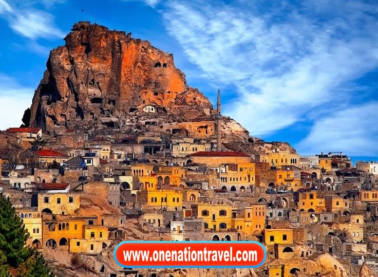 A tour of Cappadocia and Pamukkale is an introduction to two of Turkey's most natural sites of beauty. Please check our website at wwww.onenationtravel.com for further information.  #onenationtravel #tourtheplanet #earthvacations #destinosesonhos #awesome_globepix #fantastic_earth #destinosimperdiveis #travelawesome #worldplaces #luxuryworldtraveler #bestplacestogo #theluxurylife #travelingourplanet #aroundtheworldpix #beyondtravels #vacations #essemundoenosso #queroviajarmais…