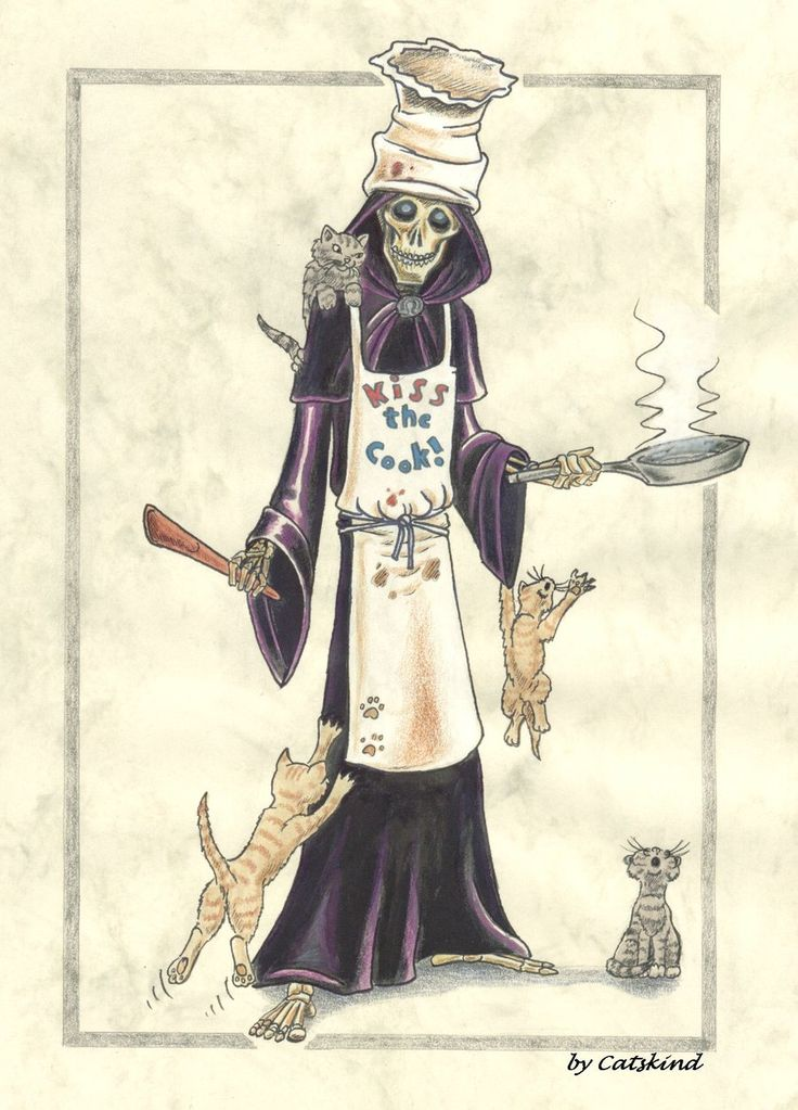 """Discworld """"Kiss the Cook""""by ~Catskind"""