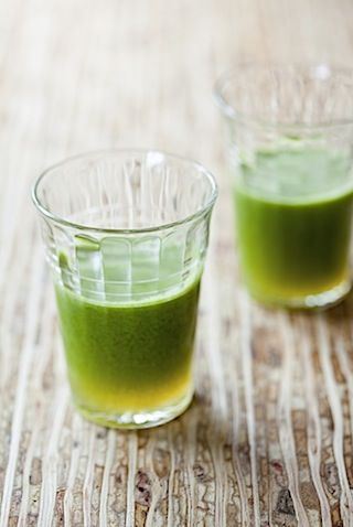 Green juice - buy it or make it yourself - add a teaspoon of matcha and you're set for the day