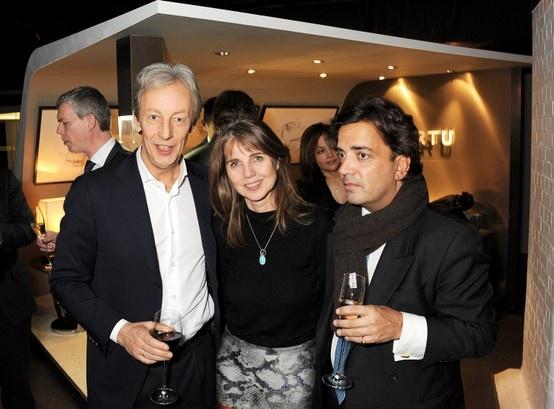 Vertu CEO Perry Oosting, Sarah Miller and James Henderson