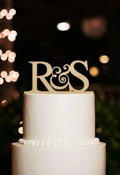 Initial Cake Topper,Custom Couple Name Cake Topper,Monogram Initial Cake Topper,Rustic Wedding Cake Topper,Wood Cake Topper,Unique Toppers by DesignCMC on Etsy https://www.etsy.com/listing/249989401/initial-cake-toppercustom-couple-name