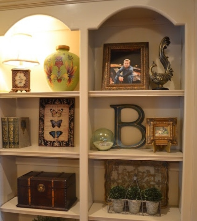 17 Best Images About Decorating Shelves On Pinterest