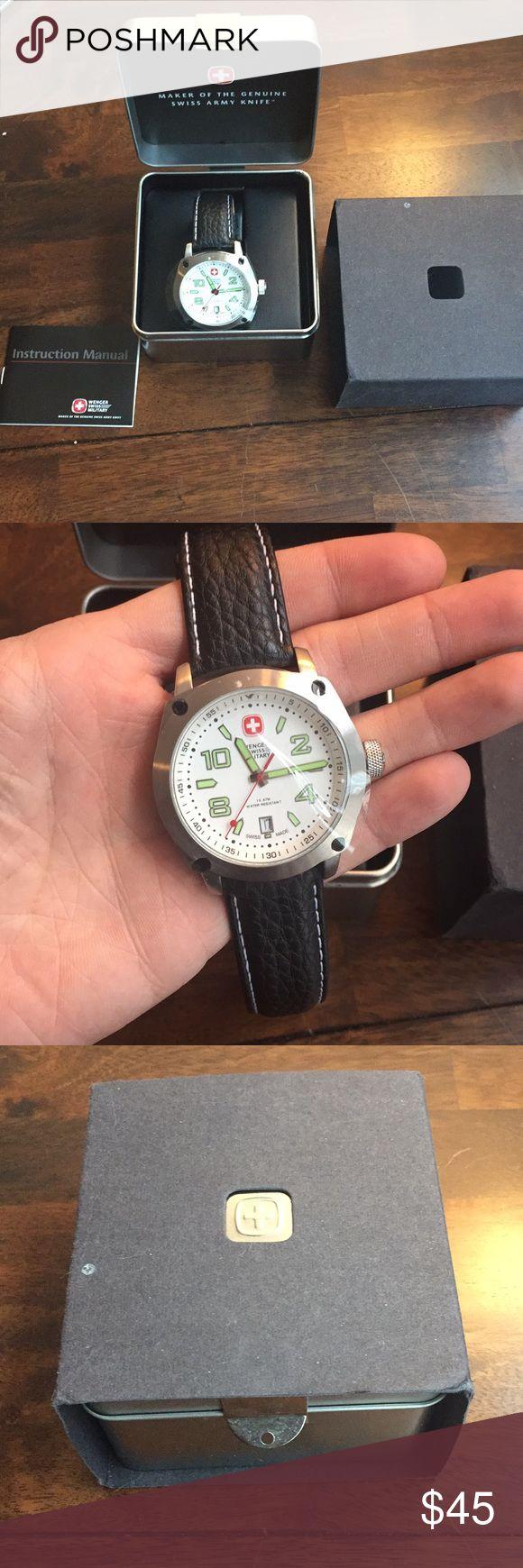 Wenger Swiss Military Watch Wenger Swiss Military watch Wenger Accessories Watches