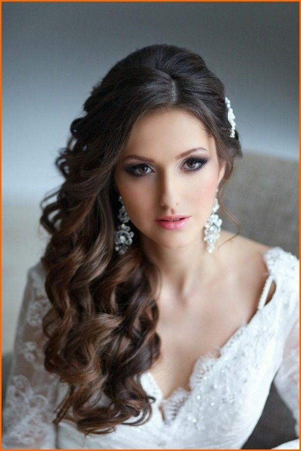 Phenomenal 1000 Ideas About Wedding Hairstyles Side On Pinterest Loose Hairstyle Inspiration Daily Dogsangcom