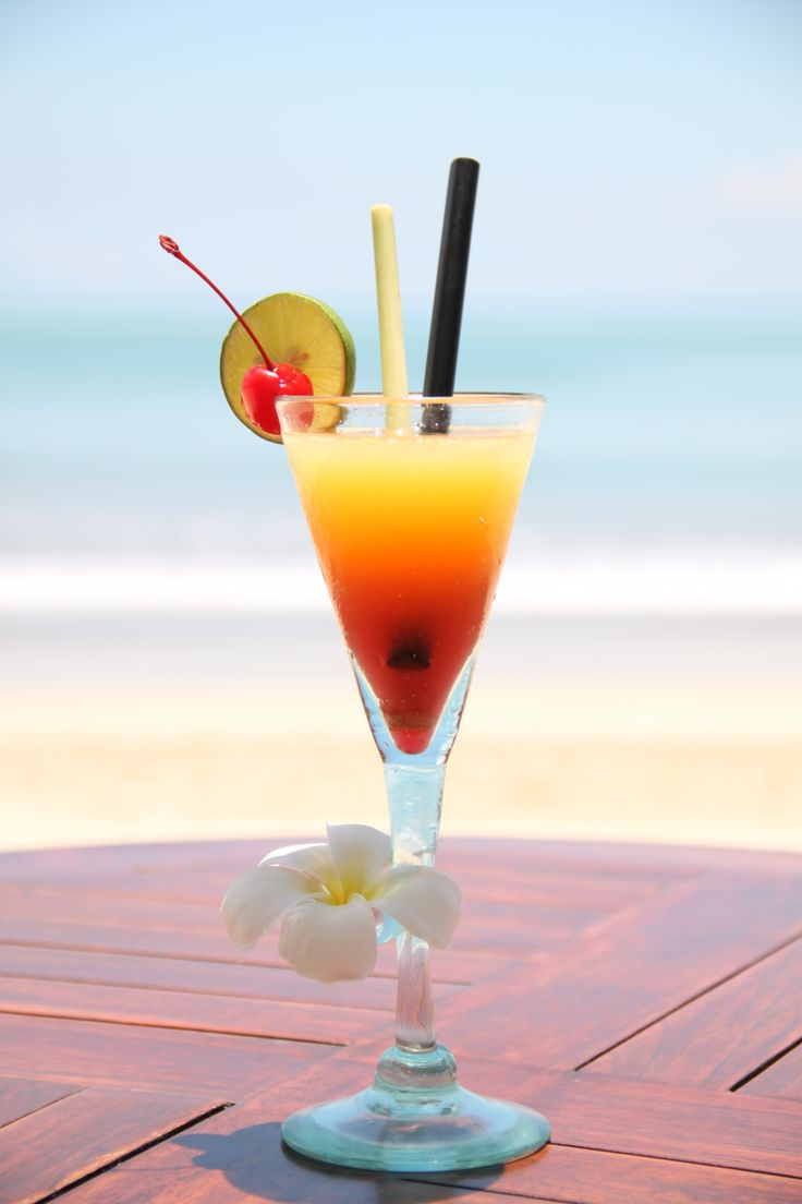 Enjoy the view at Belmond Jimbaran Puri while sipping an indulgent #Bali Happy cocktail.