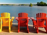 Muskoka. Voted #1 summer destination by National Geographic. Oh cottage, how i'll miss thee.